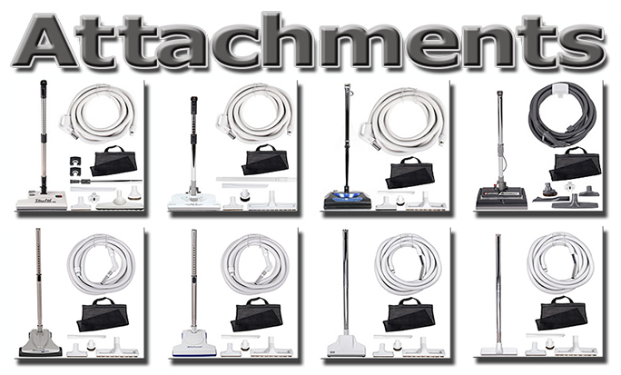 Idaho Central Vacuum Systems Attachment Sets